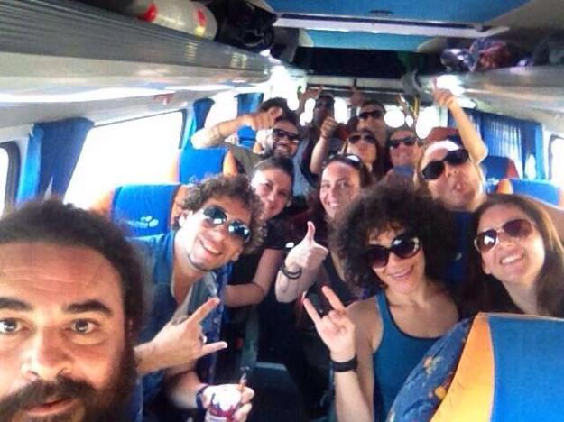 El Sevilla y el ballet de Juana la coja en Microbuses Orejuela
